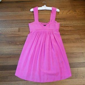 Black Halo Bright Pink Mini Dress